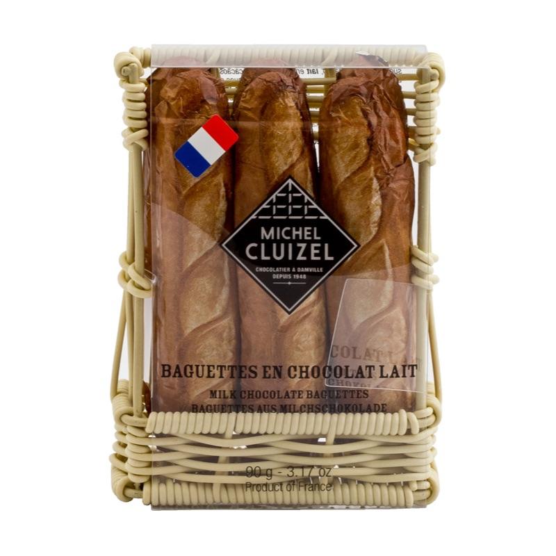 Michel Cluizel Baguettes en Chocolat Lait 90g