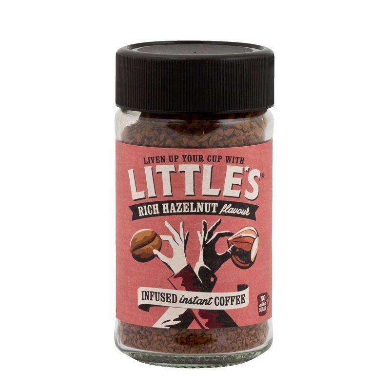 Little's instant coffee hazelnut 50g