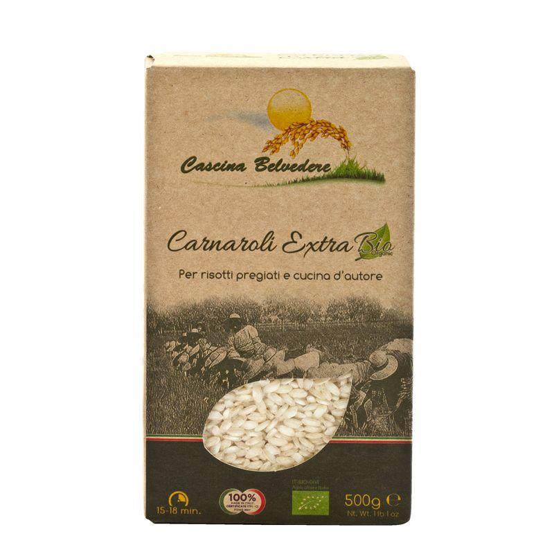 C.Belvedere Riso Organic Carnaroli extra 500g