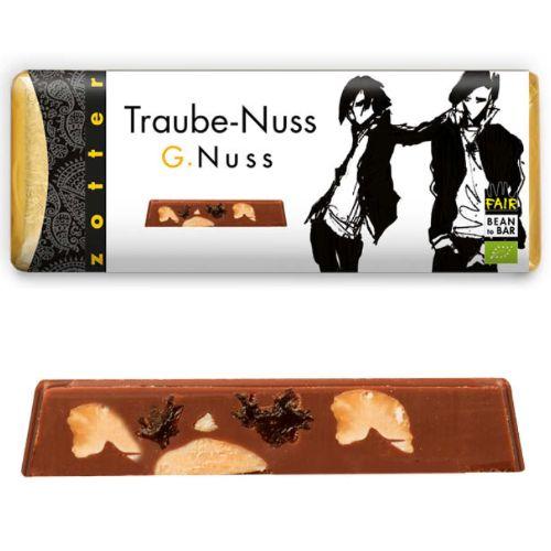 Zotter G.Nuss Grape + Nut 70g