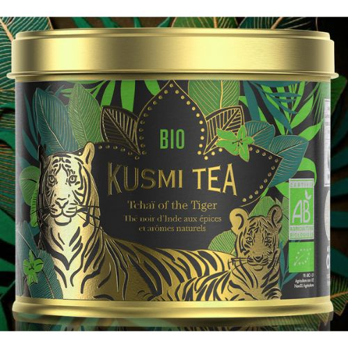 Kusmi Tchai of the Tiger Organic Black Tin 100g