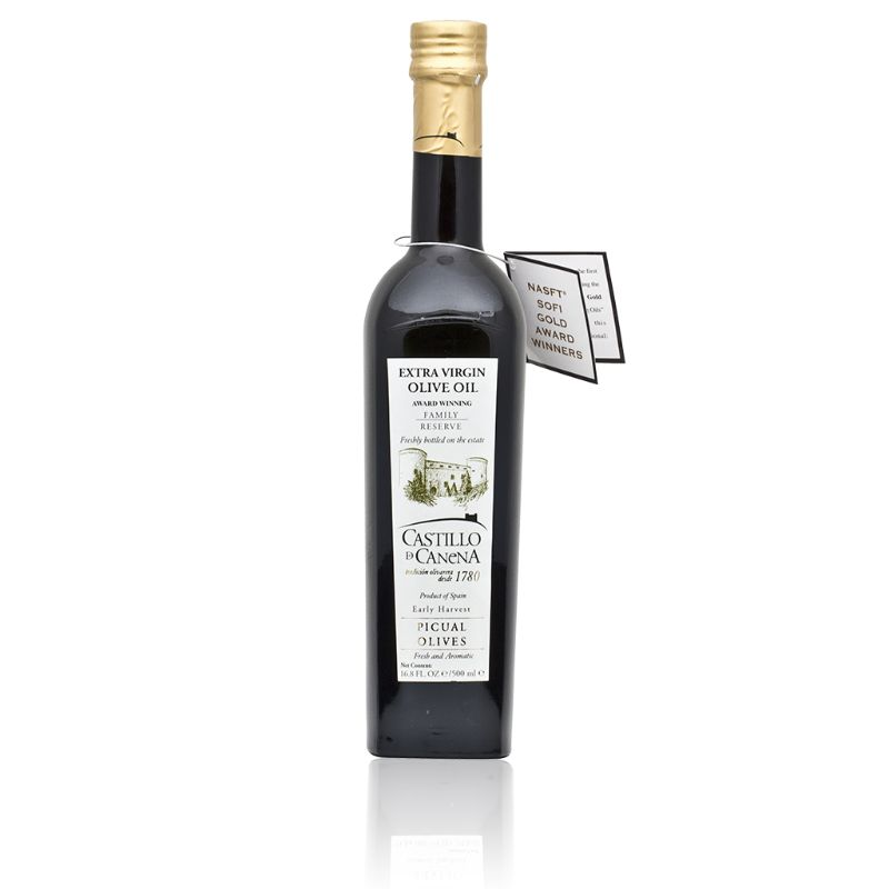 Castillo Canena Picual Olives EV olive oil 500ml