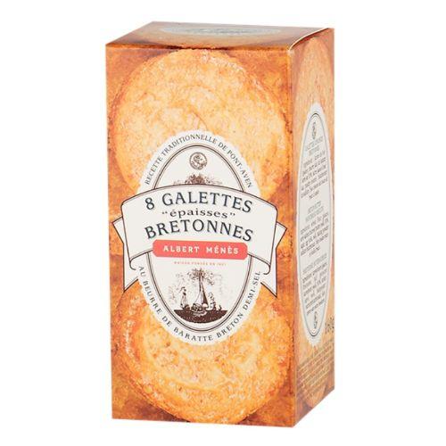 Albert Menes Galettes Bretonnes with Salted Butter 160g