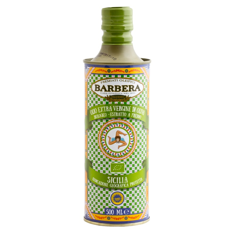 Barbera Sicilia Organic EV olive oil 500ml