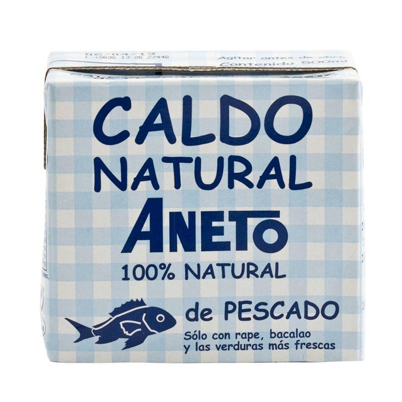 Aneto Caldo Natural de Pescado 500ml