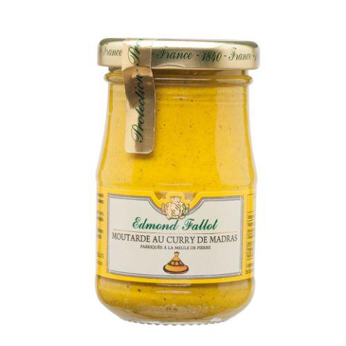 Edmond Fallot Mustard with Curry de Madras 100g