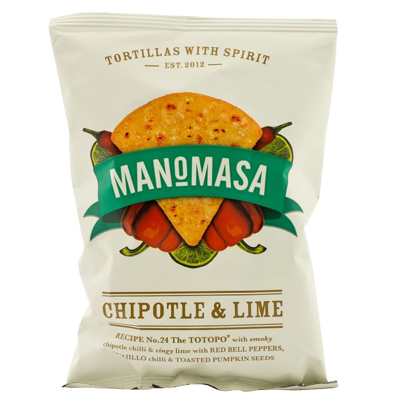 Manomasa Chipotle & Lime 35g