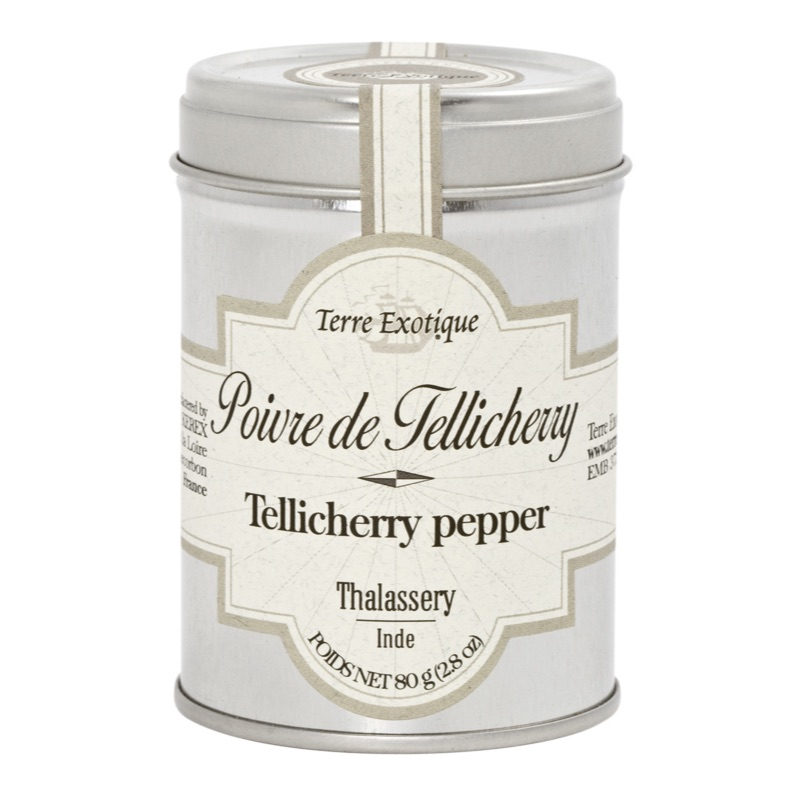 Terre Ex. whole Tellicherry peppers 80g