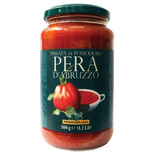 Rustichella Passata di Pomodoro Pera d'Abruzzo Primo Grano 500g