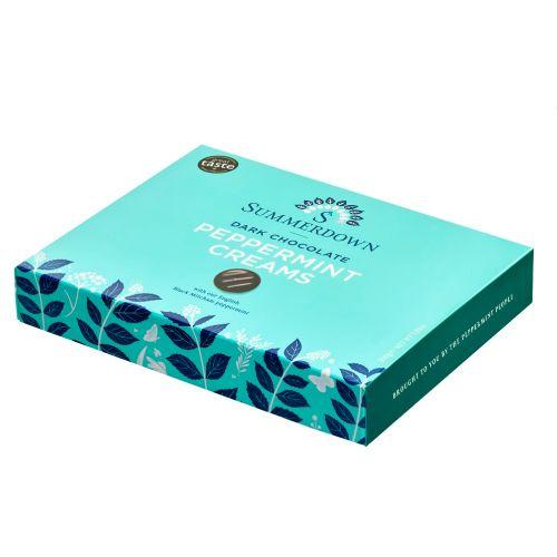 Summerdown Mint Chocolate Peppermint Creams 200g