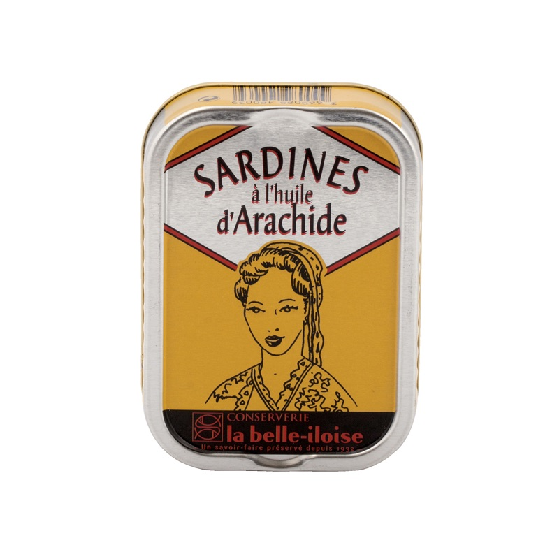 Belle Iloise Sardines in Peanut Oil 115g