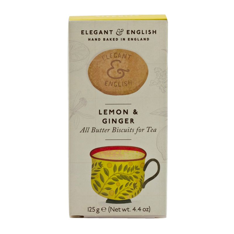 AB Elegant English Lemon & Ginger 125g