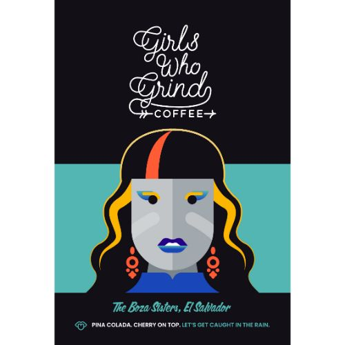 Girls Who Grind The Boza Sisters WHOLEBEAN 250g