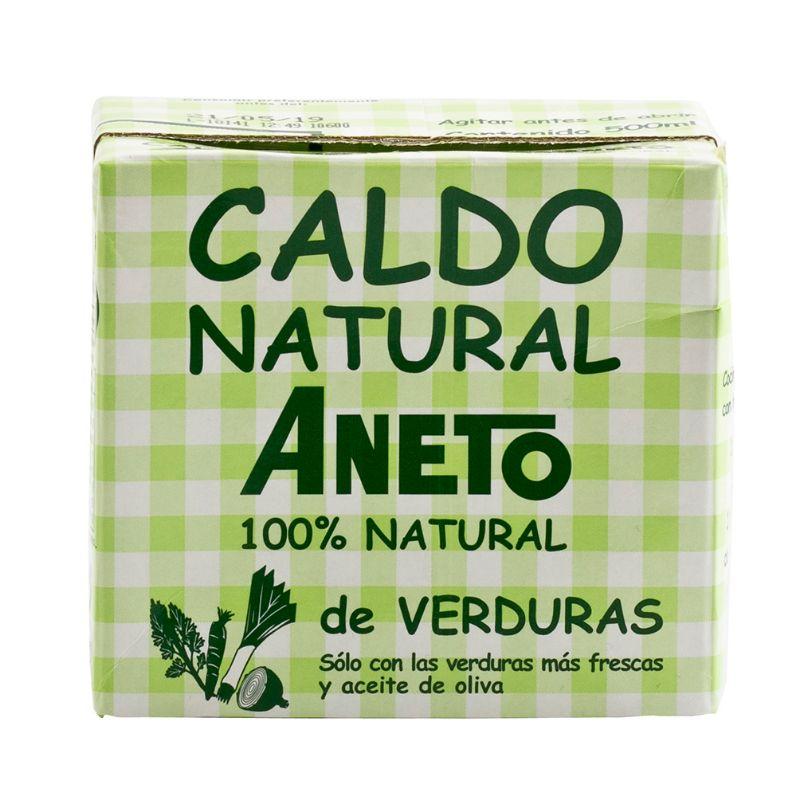 Aneto Caldo Natural de Verduras 500ml