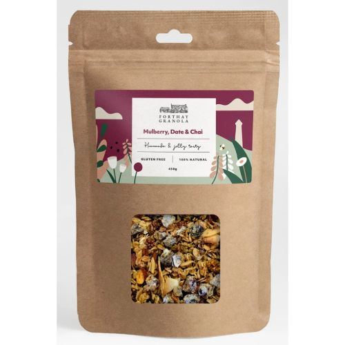 Forthay Granola Mulberry, Date & Chai 450g