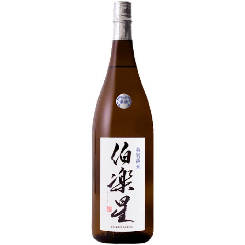 Hakurakusei Junmai Tokubetsu Sake 720ml