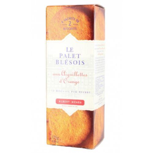 Albert Menes Palet Blésois Biscuits with Orange 125g