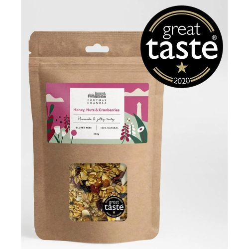 Forthay Granola Honey, Nuts & Cranberries 450g