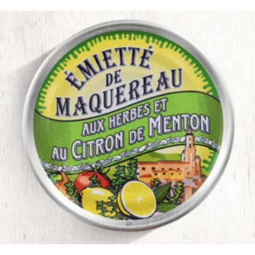Belle Iloise Mackerel with Menton Lemon and Herbs 80g