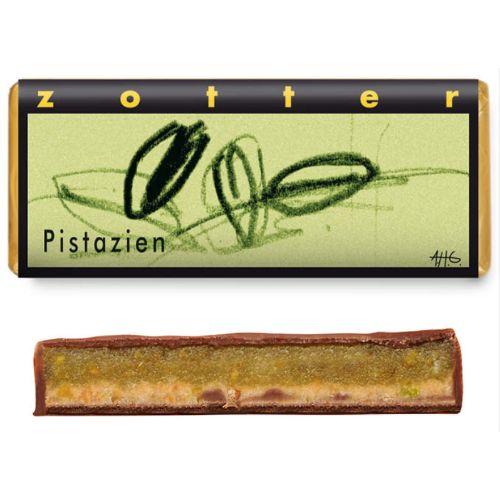 Zotter Pistachios 70g
