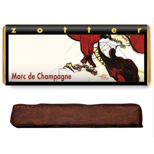 Zotter Marc de Champagne 70g