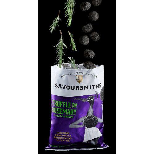 Savoursmiths Truffle & Rosemary Potato Crisps 40g