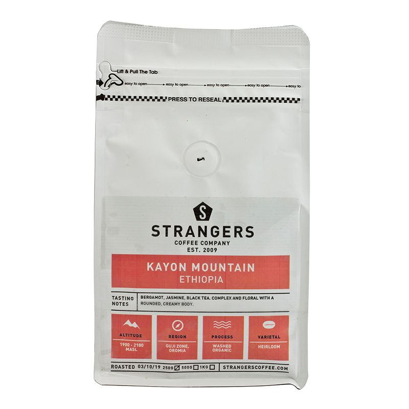 Strangers Coffee Ethiopia Kayon Mountain 250g