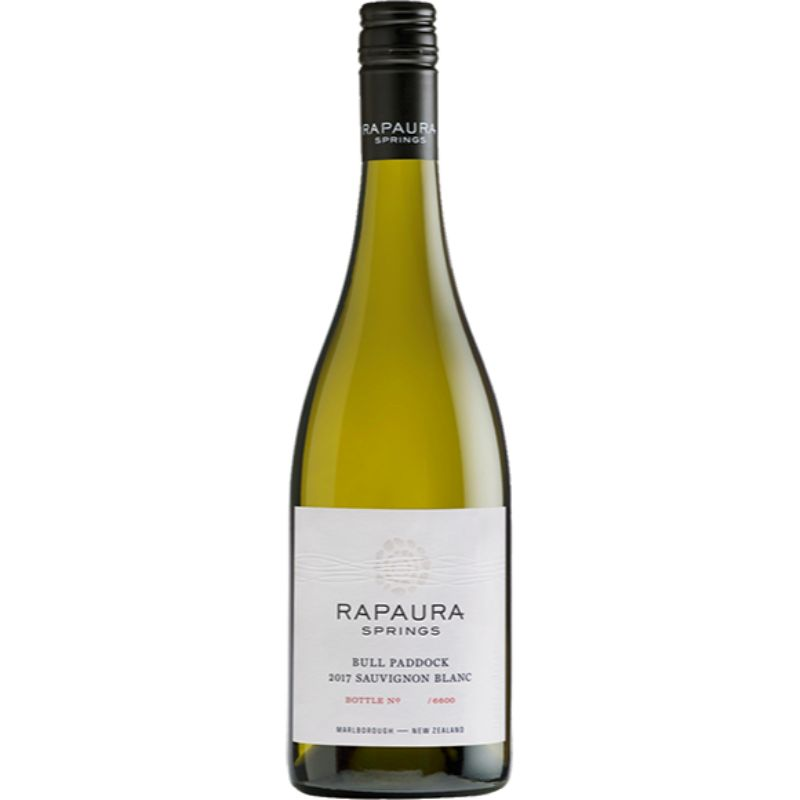 Rapaura Springs The Bull's Paddock Sauvignon Blanc, Single Vineyard 2018 0,75l