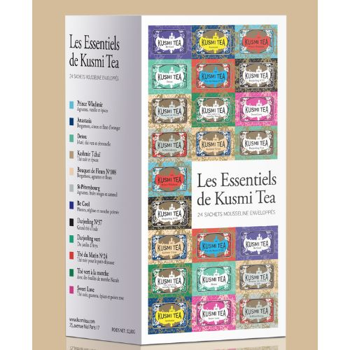 Kusmi Essentials Selection 24 Tea Bags Box 52.80g