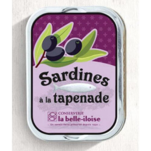 Belle Iloise Sardines with Tapenade 115g