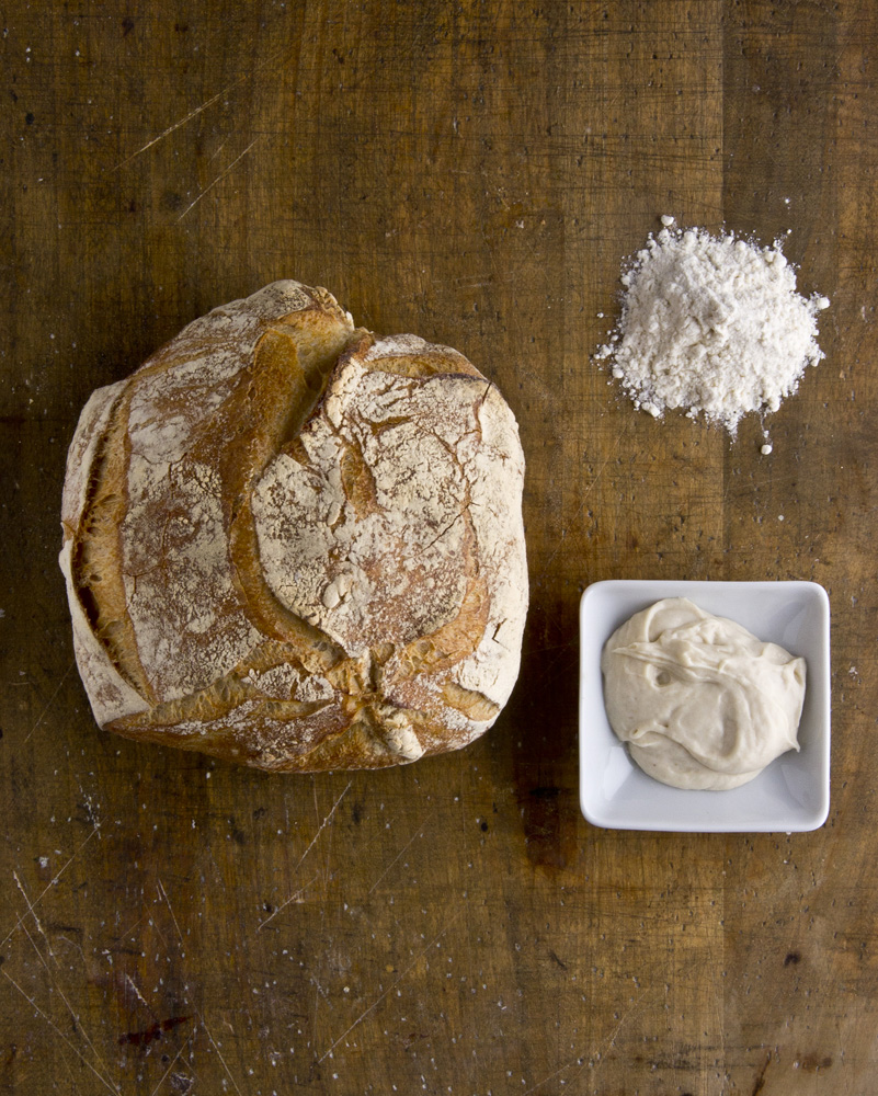 French rustic bread, white 270g