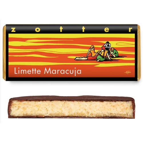 Zotter Lime Maracuja 70g