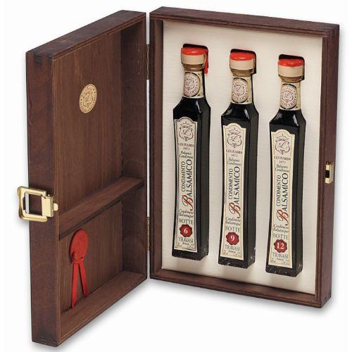 Leonardi Wooden Box Selection 3x40ml L184