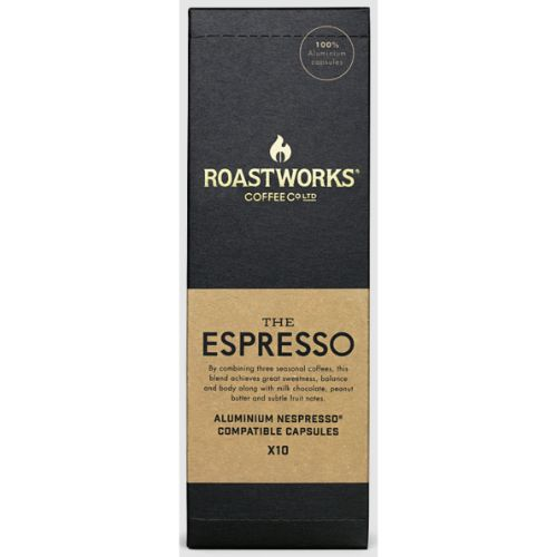 Roastworks Coffee Capsules Espresso 10pcs
