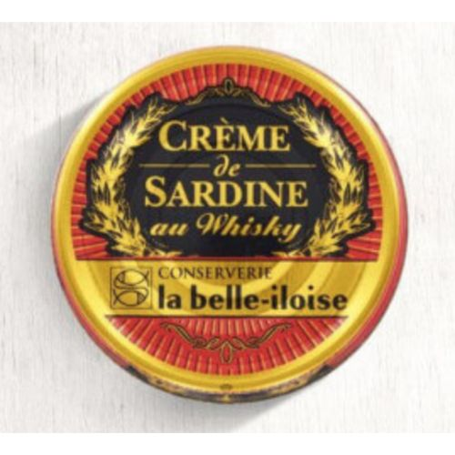 Belle Iloise Sardines Cream with Whiskey 60g