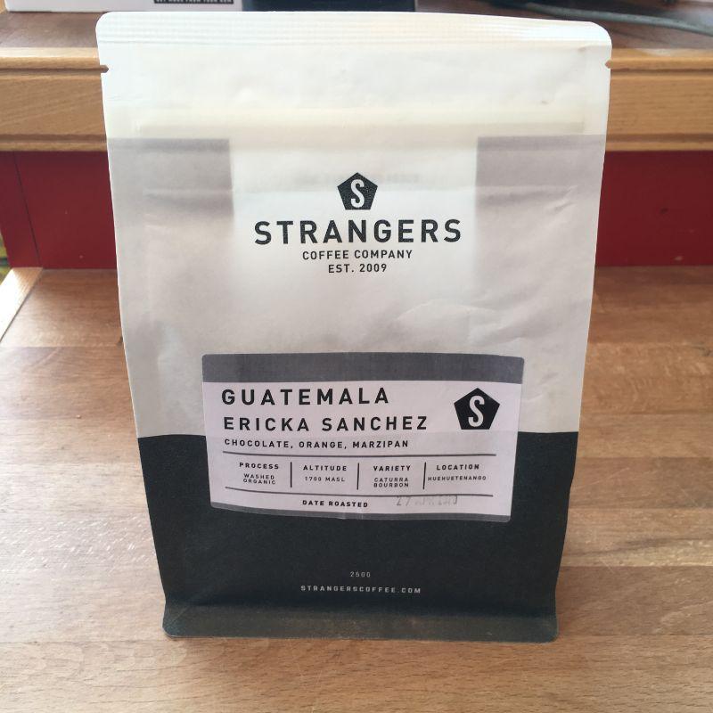 Strangers Coffee Ericka Sanchez Guatemala 250g