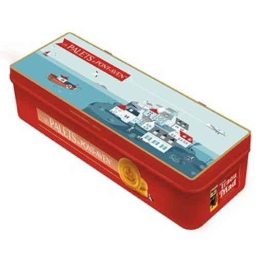 Palets de Pont-Aven Le Village Breton Biscuits 6x2 Tin 200g