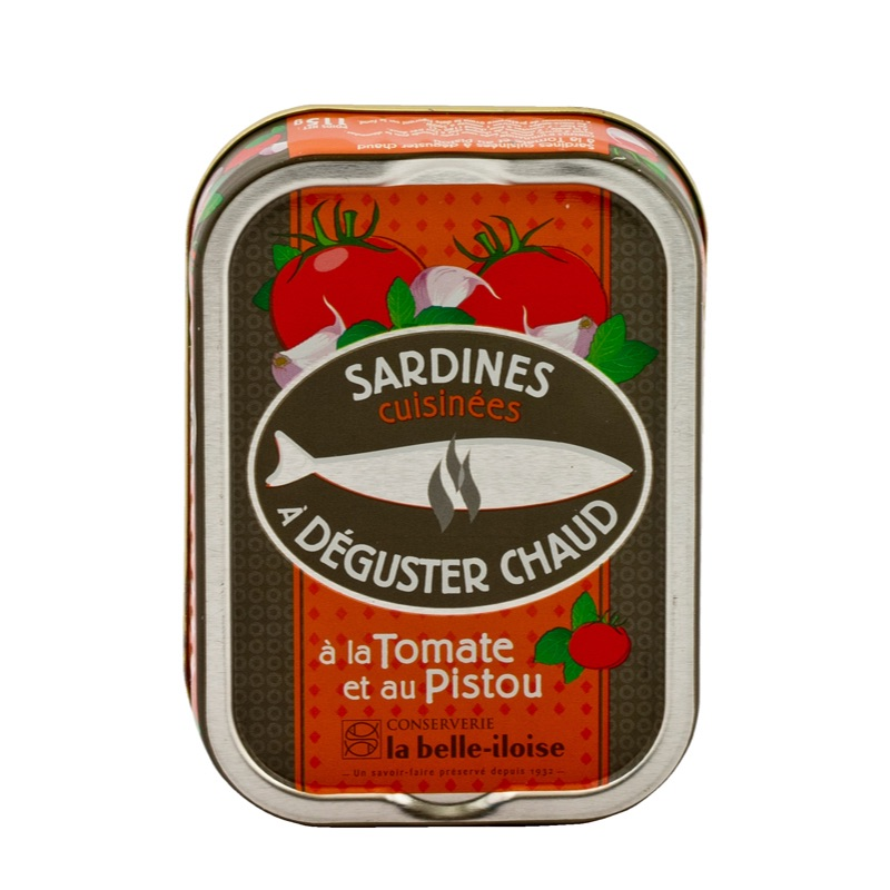Belle Iloise Sardines Tomate Pistou 115g