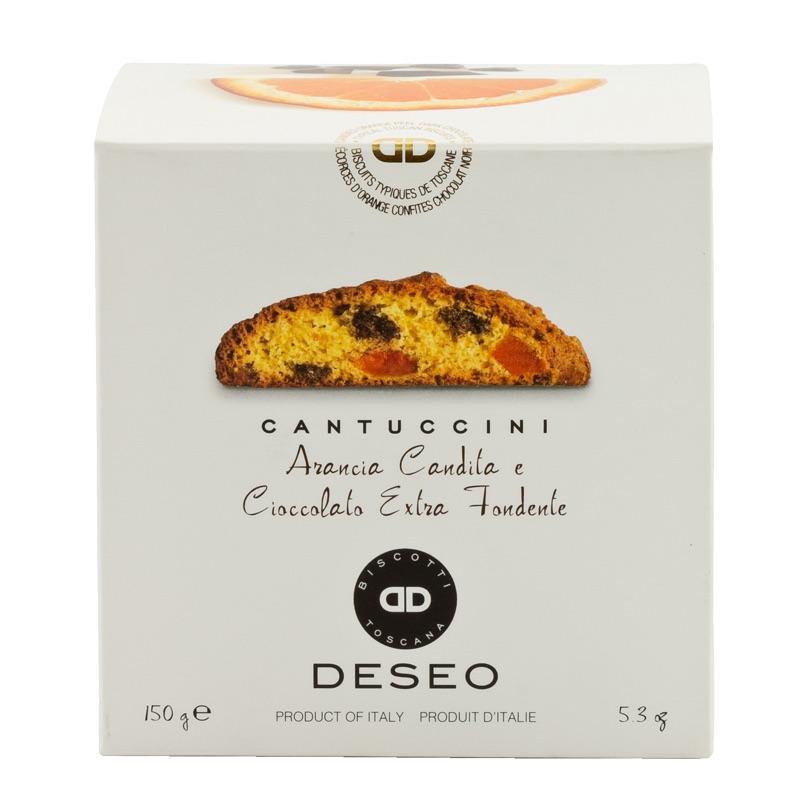 Deseo Cantuccini orange-chocolate 150g