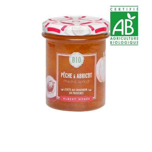 Menes Peach & Apricot Jam Organic 230g