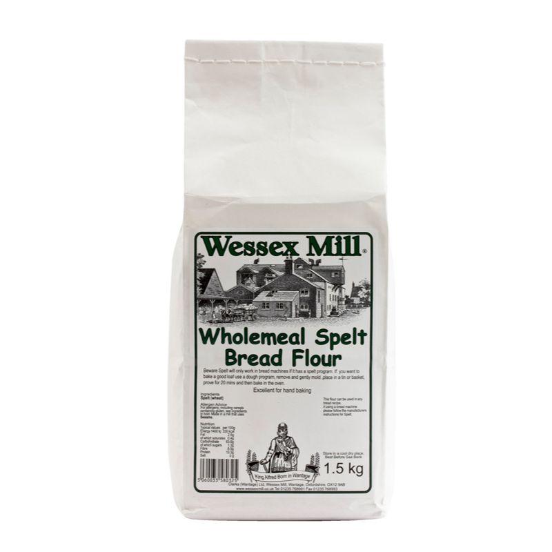 WessexM Wholemeal Spelt Bread flour 1.5kg