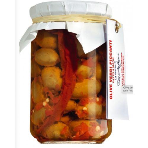 Don Antonio Olive Verdi Piccanti, Pickled Spicy Olives 280g