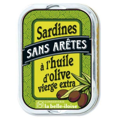 Belle Iloise Sardines Without Bones in Olive oil 115g