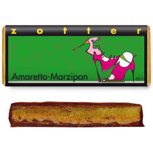 Zotter Amaretto Marzipan 70g