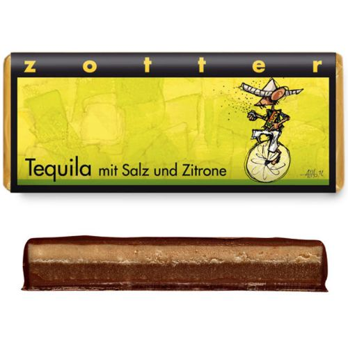 Zotter Tequila Salt Lemon 70g