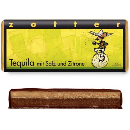 Zotter Tequila Salt Lemon 70g