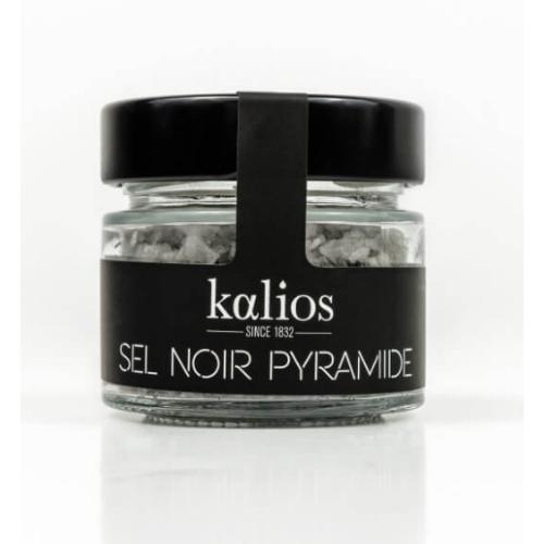 Kalios Pyramide sea salt flakes black 35g
