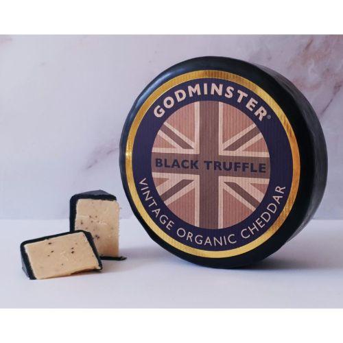 Godminster Black Truffle Vintage Organic Cheddar 1kg GOD