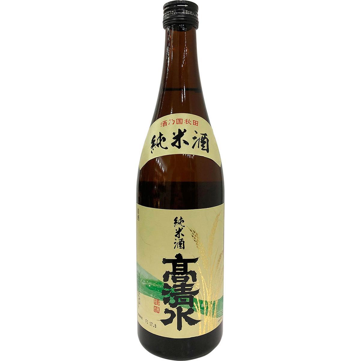 Takashimizu Junmai Sake 0,72l