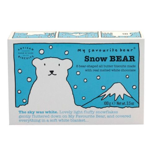 AB Snow Bear White Chocolate Biscuits 100g